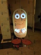 Гефест Проеция создала Виртуального персонажа в виде батона для выставки ПРОДЭКСПО 2014