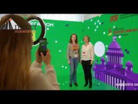 виртуальный промоутер на выставке