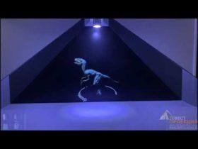 голографическая пирамида